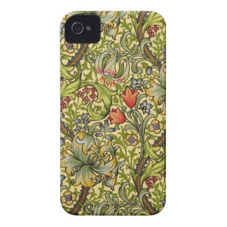 William Morris guld- lilja iPhone 4 Case-Mate Case