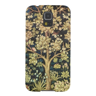William Morris livets träd Galaxy S5 Fodral