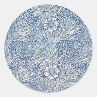 William Morris ringblomma - klistermärke