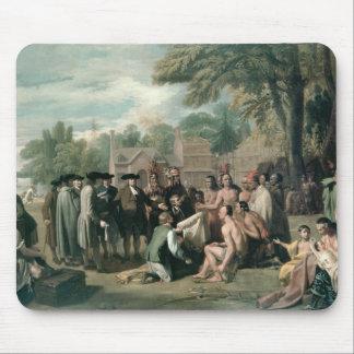 William Penns fördrag med indierna in Musmatta