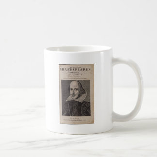 William Shakespeare 1623 Kaffemugg