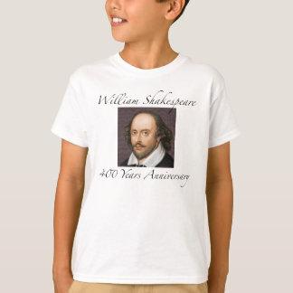 William Shakespeare 400 år årsdag Tshirts