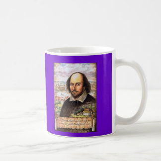 William Shakespeare bildmugg Kaffemugg