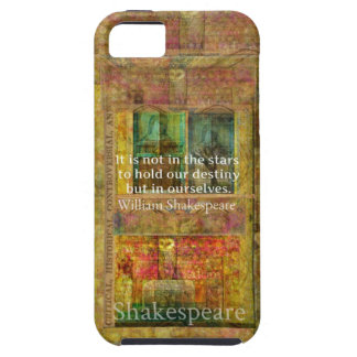 William Shakespeare CITATIONSTECKEN om öde iPhone 5 Case-Mate Fodraler