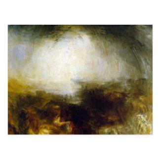 William Turner-Skuggar & mörker, afton av Vykort
