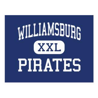 Williamsburg - pirater - kick - Williamsburg Vykort