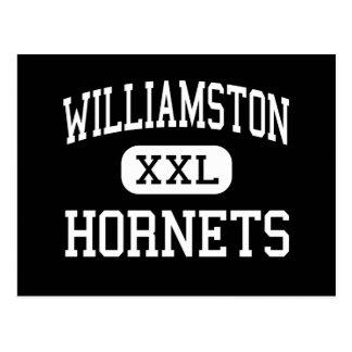 Williamston - bålgetingar - kick - Williamston Vykort