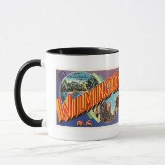 Wilmington #2 North Carolina NC vintageVykort Mugg