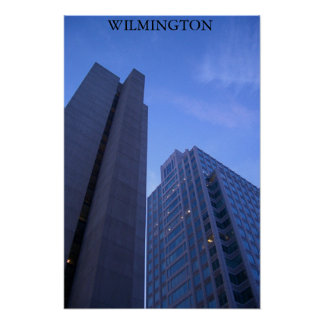 Wilmington på skymningen poster