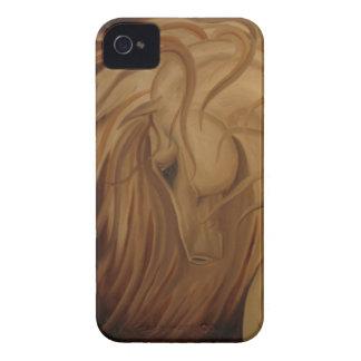 Windblown klassisk häst iPhone 4 skal