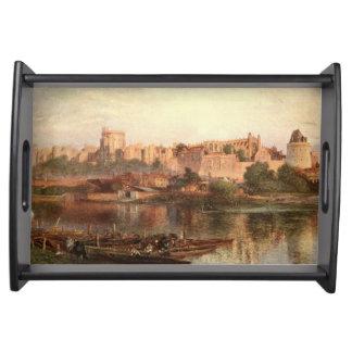 Windsor slott II, Berkshire, England Frukostbricka