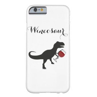Wineosaur iphone case barely there iPhone 6 fodral
