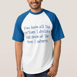 Winston Churchill citationstecken Tee Shirts