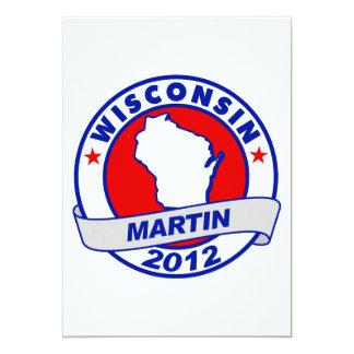 Wisconsin Andy Martin 12,7 X 17,8 Cm Inbjudningskort