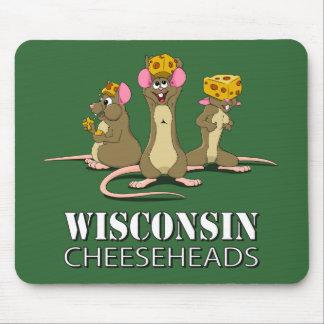 Wisconsin Cheesehead möss Musmatta