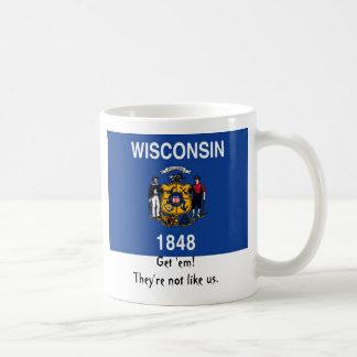 Wisconsin: Få dem! De är inte lika oss Kaffemugg