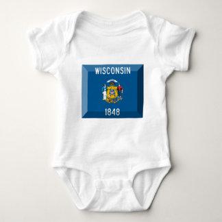 Wisconsin flaggaGem T-shirts