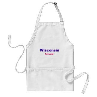 Wisconsin-framåt Förkläde