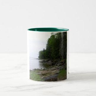 Wisconsin travel mug Två-Tonad mugg