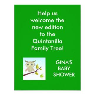 wise-owl-bird-thumb6038453 hjälper oss att 10,8 x 14 cm inbjudningskort