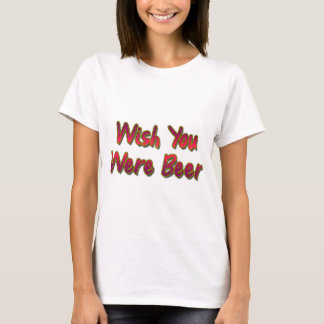 Wish-Du-Vara-Öl Tee Shirt