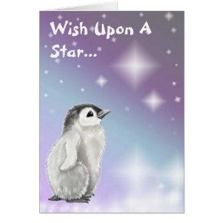 Wish på en stjärna… hälsningskort