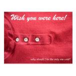 Wishen var du här! vykort