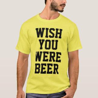 Wishen var du öl tee