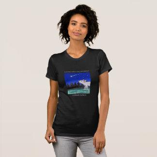 Wisher för en mer snäll världsVeganskjorta Tee Shirt
