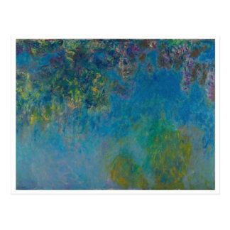Wisteria av Monet Vykort