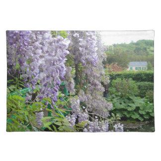Wisteria på Monets den Giverny bordstabletten Bordstablett