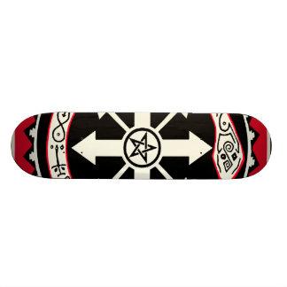 WitchcraftkaosSkateboard Old School Skateboard Bräda 18 Cm