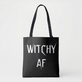 Witchy AF hänger lös Tygkasse