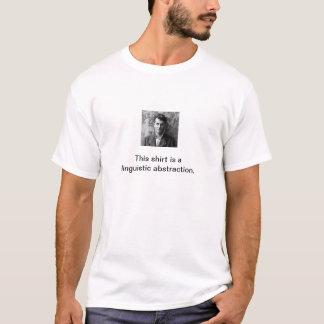 Wittgenstein abstraktionskjorta tshirts
