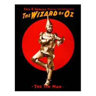 Wizardet of Oz - scenisk affisch för vintage Vykort