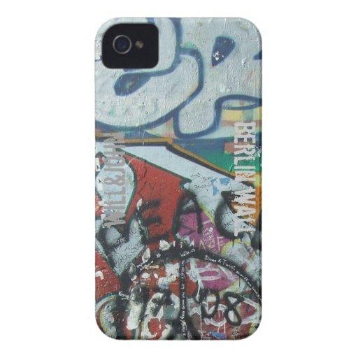 WJ-blackberry fodralberlin vägg Case-Mate iPhone 4 Fodral