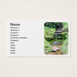 Wolf Creek lite vattenfall Visitkort