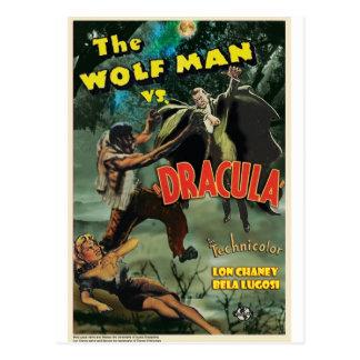 WOLFMAN VS DRACULA av Philip J. Riley Vykort