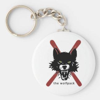 Wolfpack nyckelring