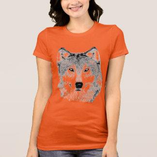 Wolfs den Head T-tröja Tee Shirt