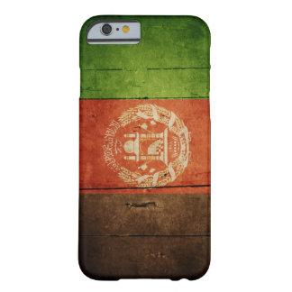 Wood Afghanistan flagga; Afghanskt Barely There iPhone 6 Skal