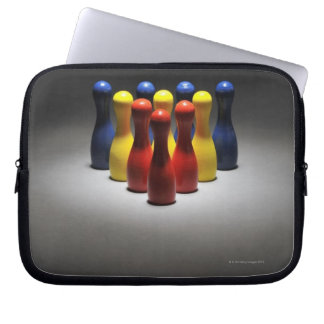 Wood bowlingstift laptop sleeve