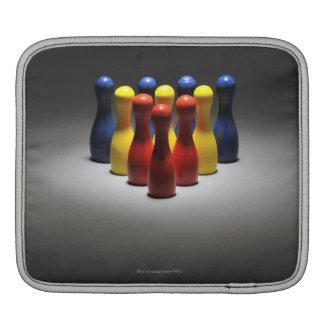 Wood bowlingstift sleeve för iPads