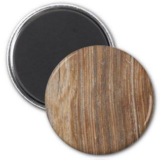 Wood korn magnet rund 5.7 cm