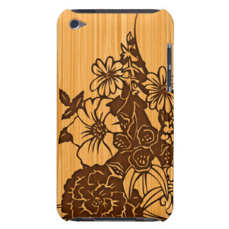 Wood kornblommigthandlag Case-Mate iPod touch case