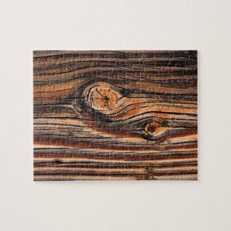 Wood kornmönster pussel