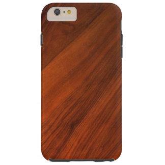 Wood körsbärsrött positivt tufft fodral för iPhone Tough iPhone 6 Plus Skal