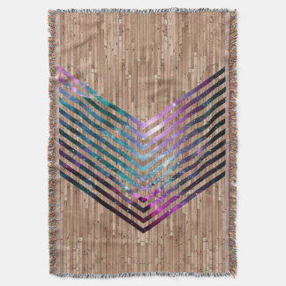 Wood nebulasparre dekorativ filt
