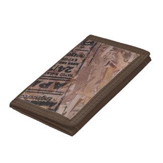 wood plånbok