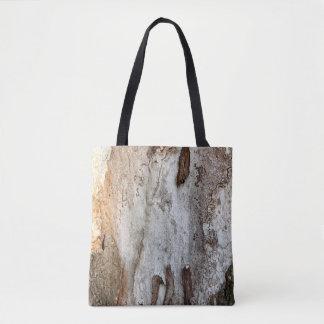 Wood skäll för träd tygkasse